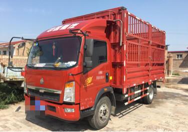 中國重汽悍將 載貨車  170匹 2018年06月 4x2
