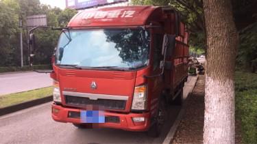 中國重汽HOWO 載貨車  130匹 2017年05月 4x2
