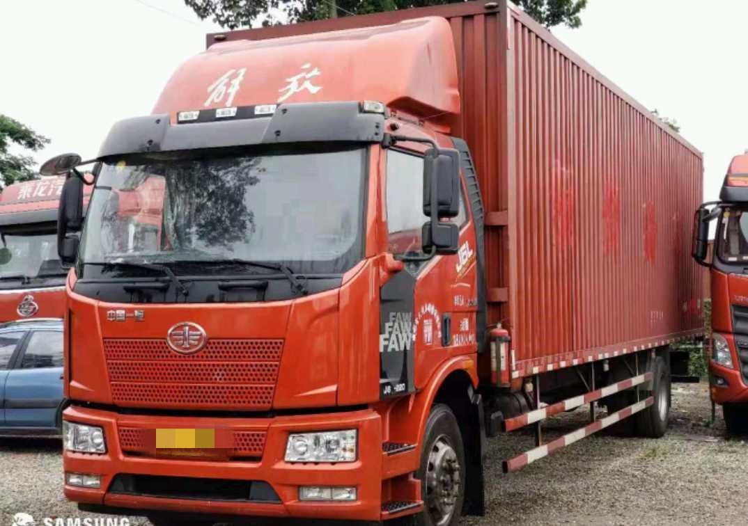 一汽解放J6L中卡 質惠版 載貨車  220匹 2018年11月 4x2