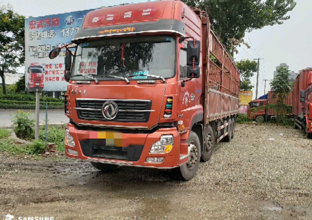 東風天龍 載貨車  350匹 2016年09月 8x4