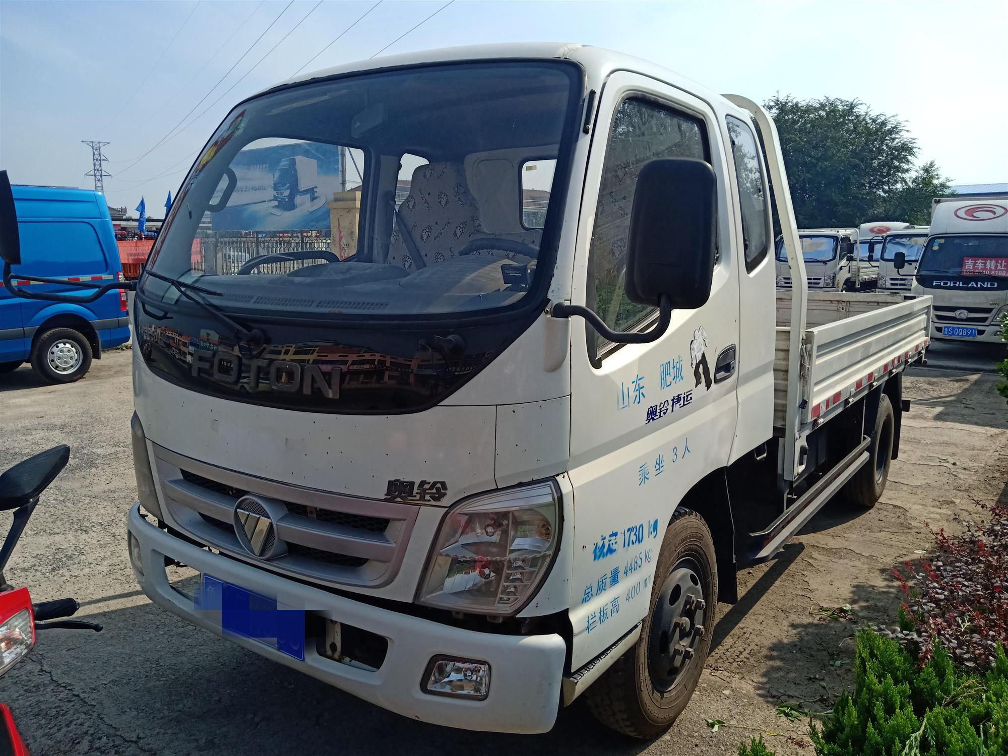 福田奧鈴奧鈴捷運 載貨車  91匹 2013年09月 4x2