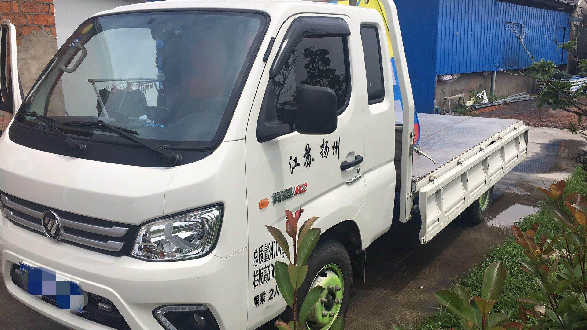 北汽福田其他車系 載貨車  83匹 2018年12月 4x2