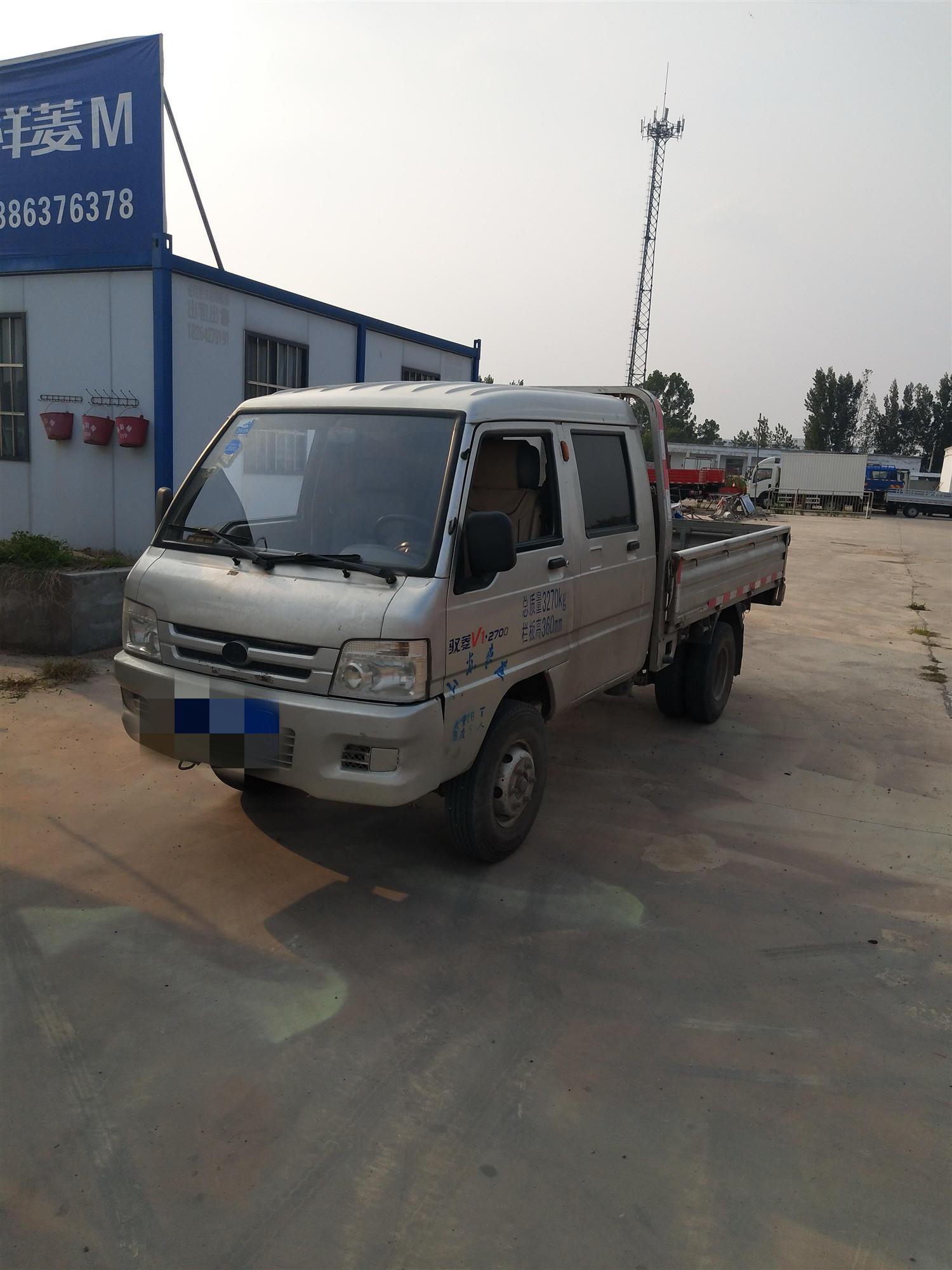 北汽福田 載貨車  85匹 2012年09月 4x2