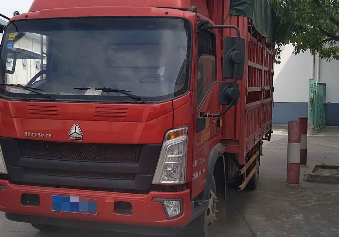 中國重汽HOWO 載貨車  148匹 2018年07月 4x2
