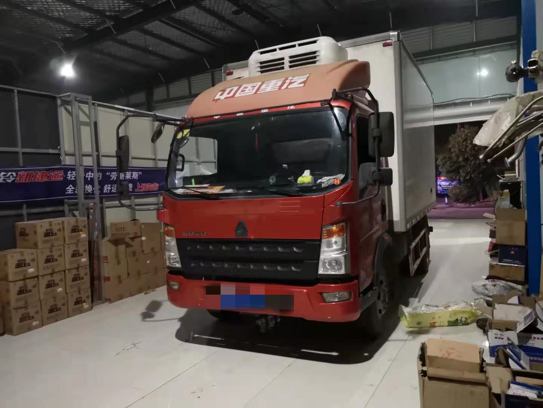 中国重汽HOWO 载货车  150匹 2017年08月 4x2