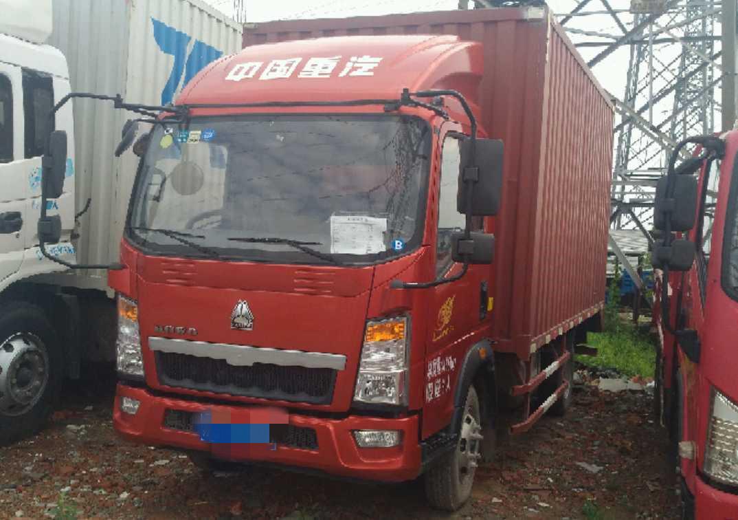 中國重汽HOWO 載貨車  95匹 2018年03月 4x2