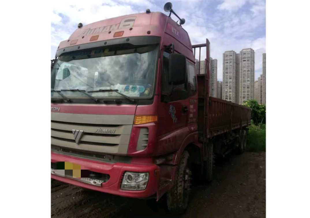 福田歐曼ETX 載貨車  336匹 2010年07月 8x4