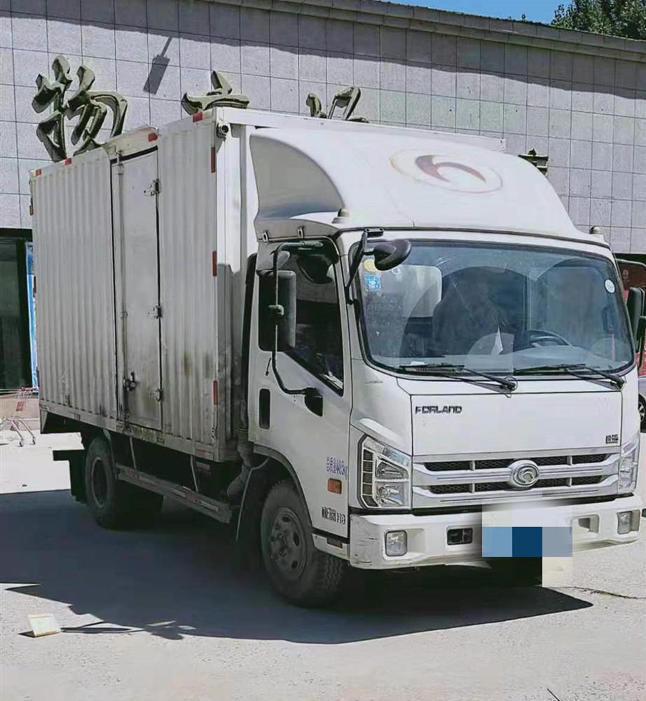 北汽福田其他车系 载货车  110匹 2015年12月 4x2