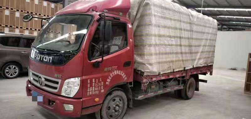 福田奧鈴奧鈴TX 載貨車  130匹 2017年11月 4x2