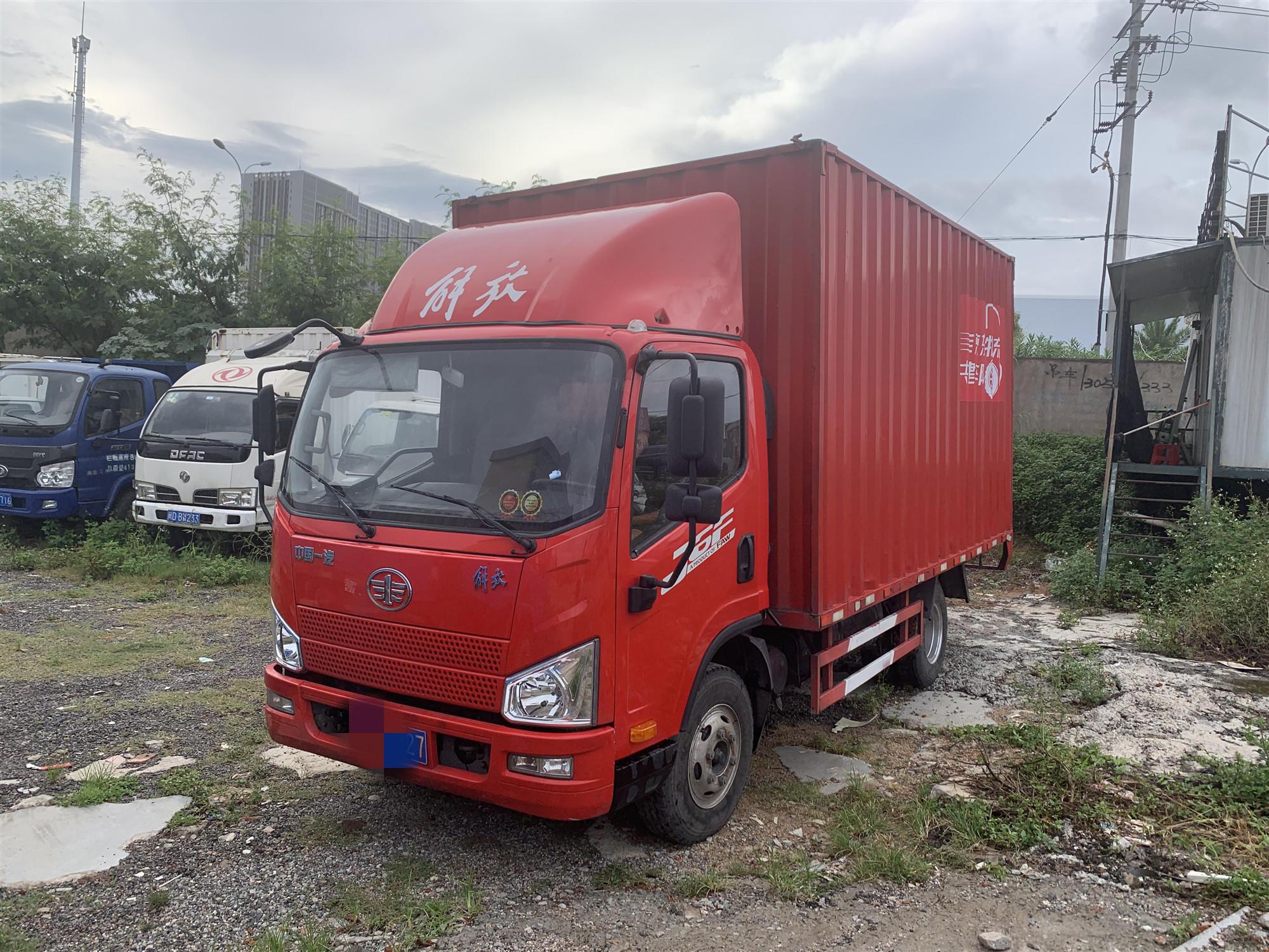一汽解放其他車系 載貨車  120匹 2017年10月 4x2