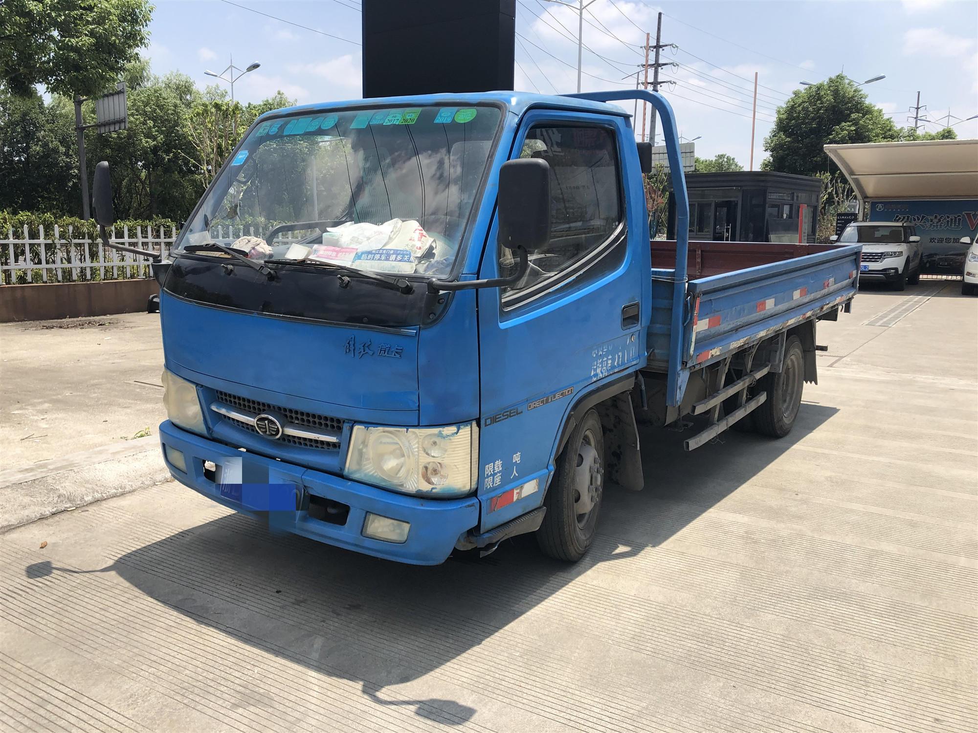 一汽解放輕卡J6F 載貨車  100匹 2010年09月 4x2