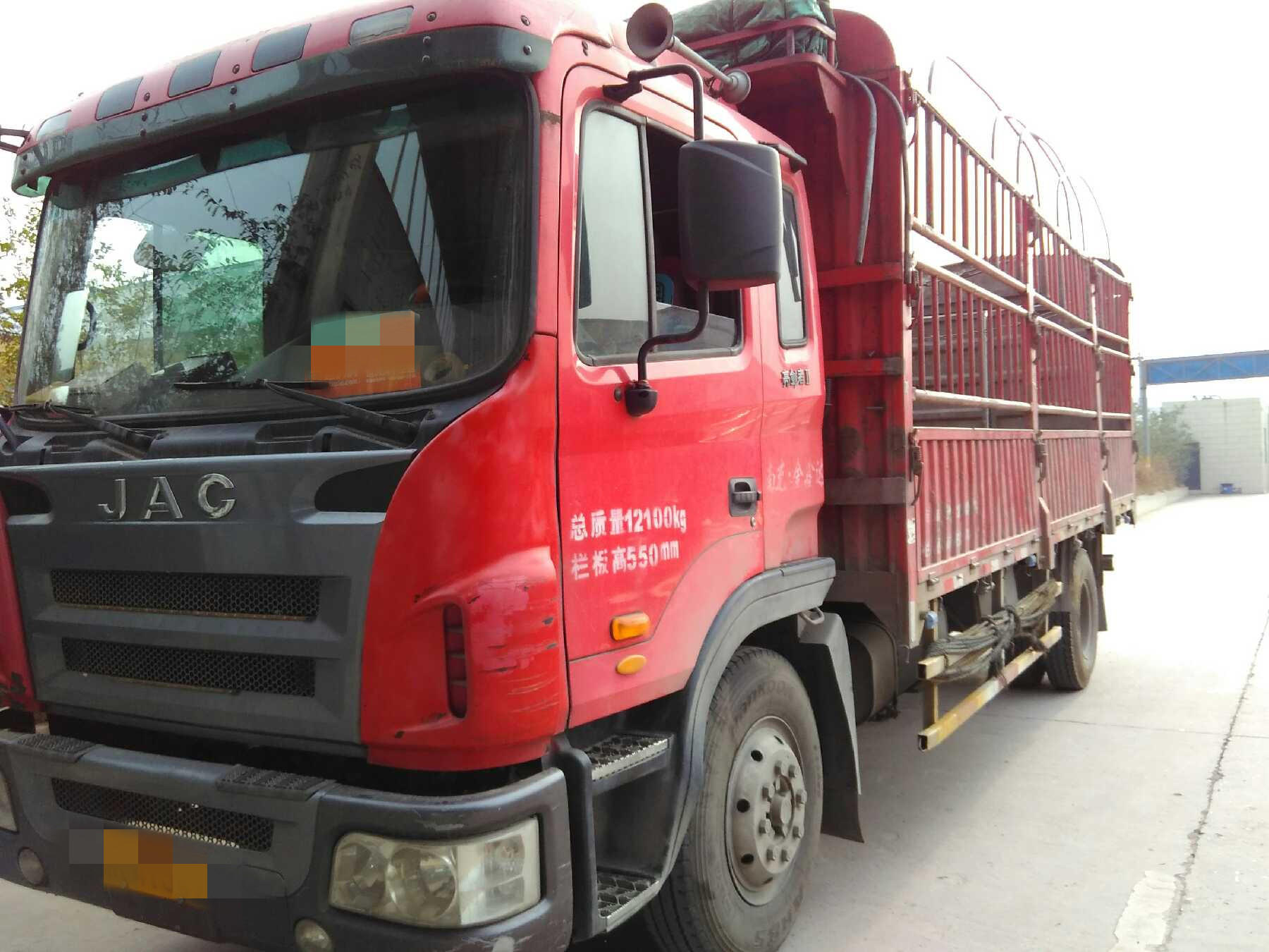 江淮格尔发A6L中卡 载货车  240匹 2012年02月 4x2