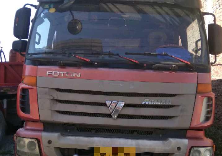 福田欧曼其他车系 载货车  340匹 2012年09月 8x4