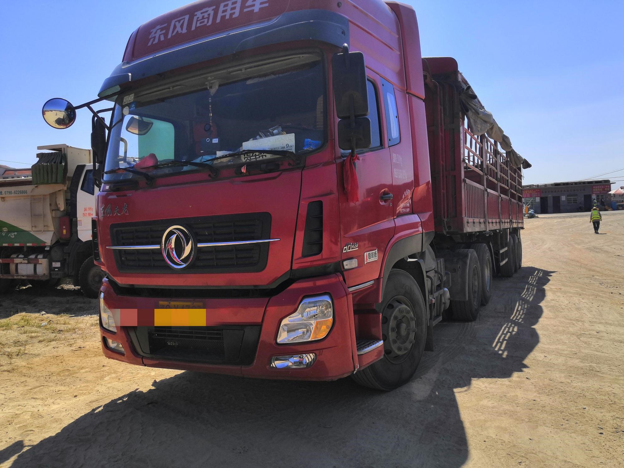 東風天龍 牽引車  420匹 2016年09月 8x4