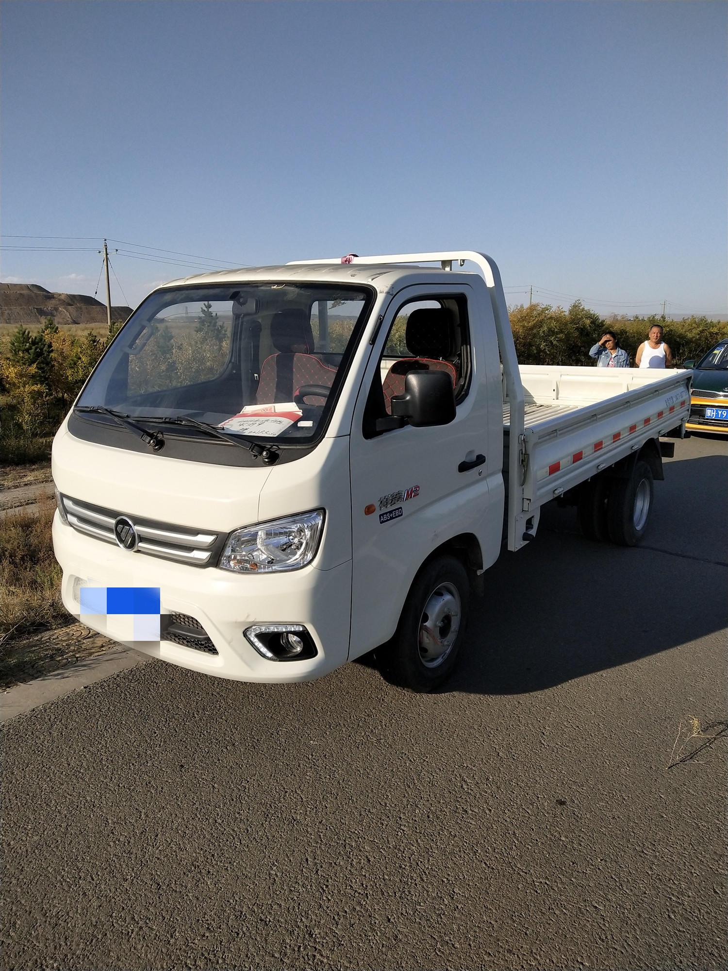 北汽福田其他車系 載貨車  112匹 2018年11月 4x2