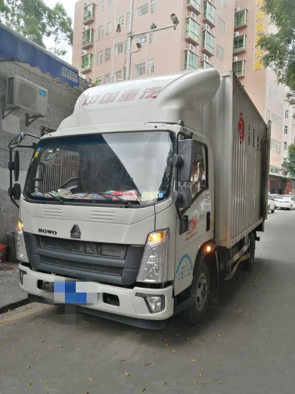 中國重汽悍將 載貨車  156匹 2018年12月 4x2