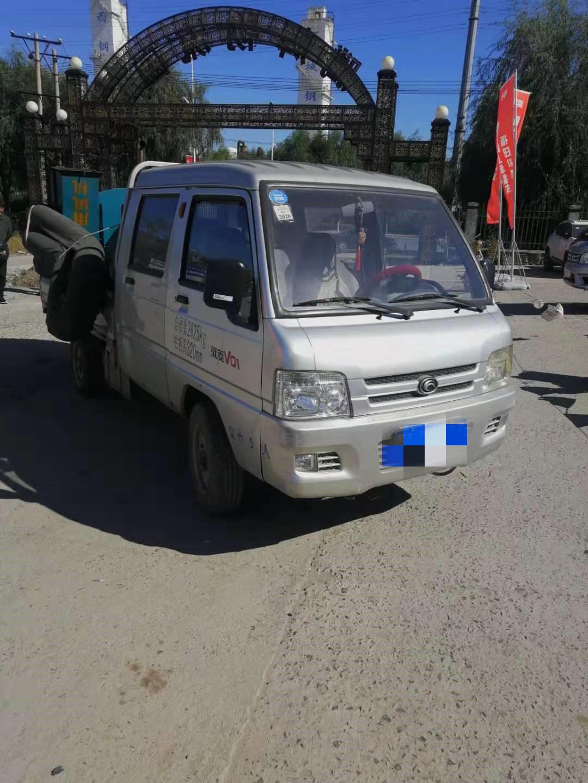 北汽福田其他车系 载货车  80匹 2013年06月 4x2