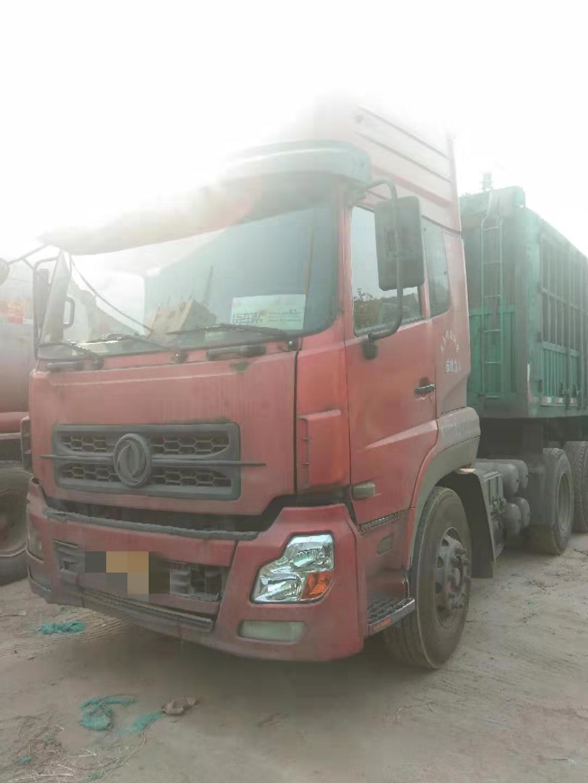 东风天龙 牵引车  375匹 2010年07月 6x4