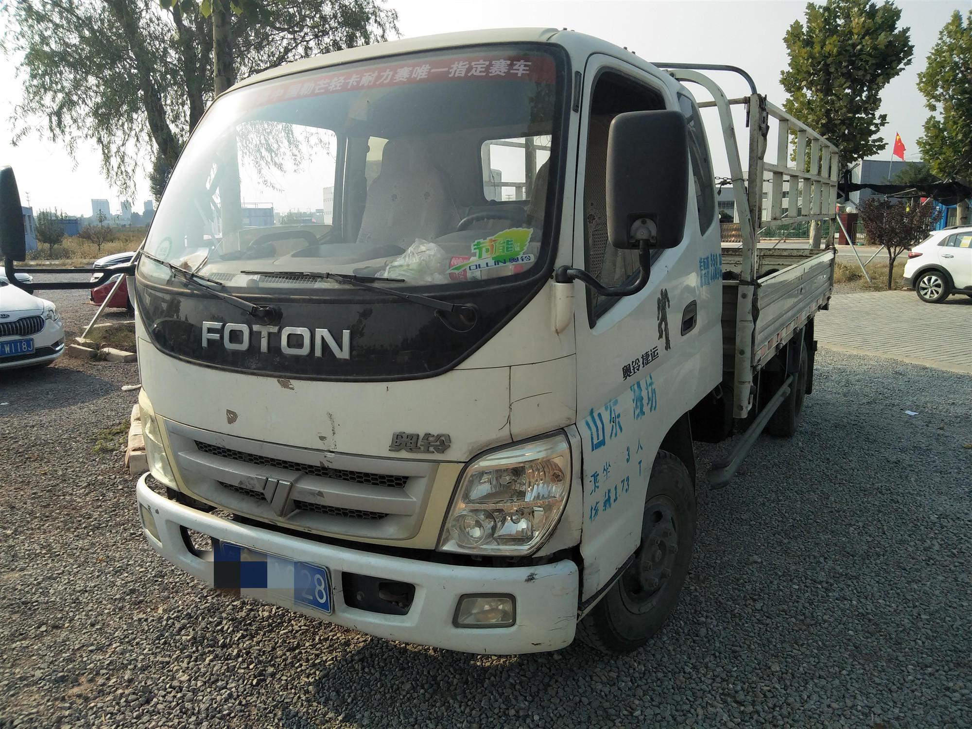 福田歐曼其他車系 載貨車  98匹 2010年09月 4x2