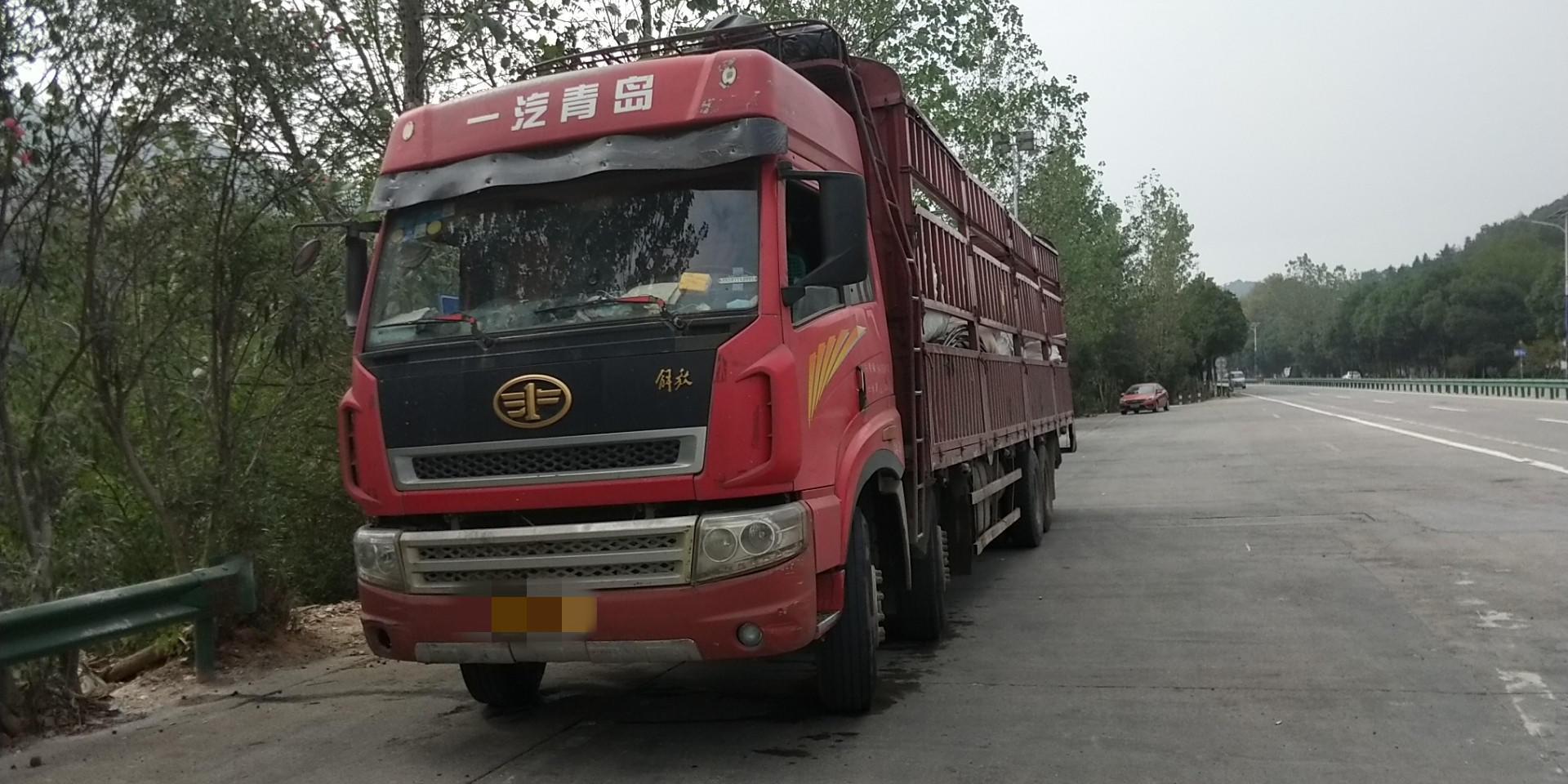 青島解放其他車系 載貨車  290匹 2013年01月 8x4