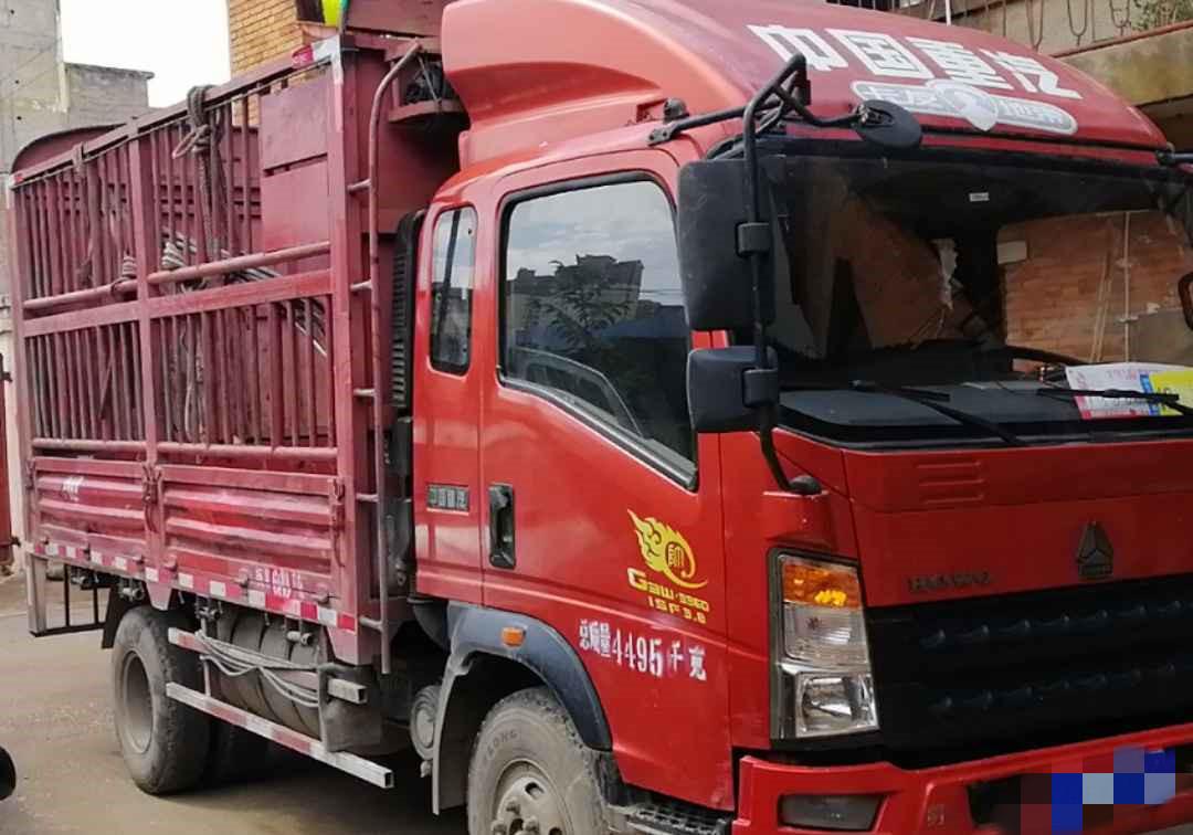 中國重汽統帥 載貨車  141匹 2015年05月 4x2