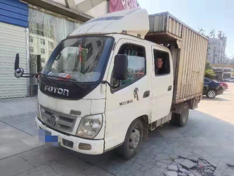 福田奥铃奥铃捷运 载货车  70匹 2012年12月 4x2