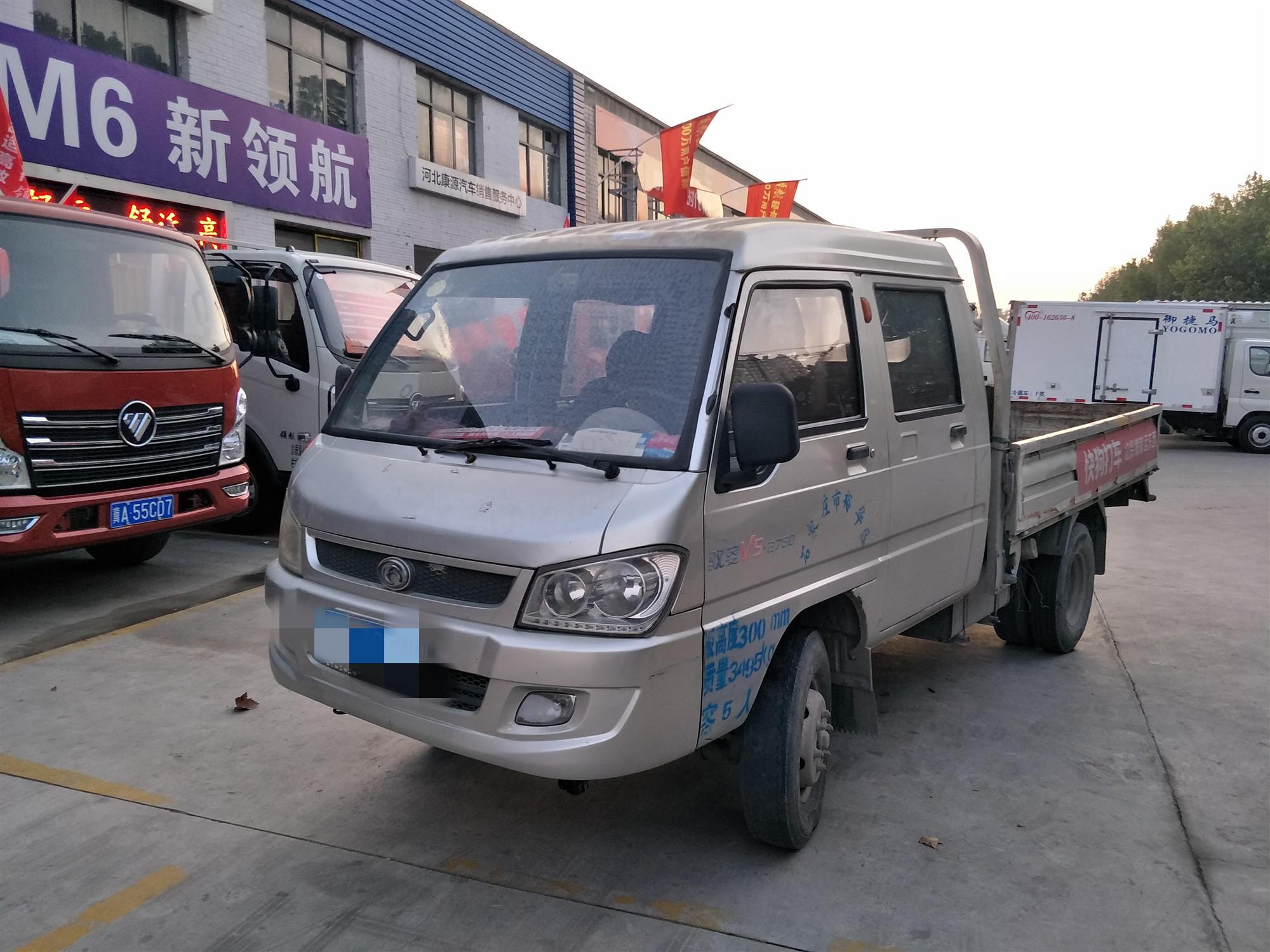 北汽福田瑞沃 载货车  115匹 2012年12月 4x2