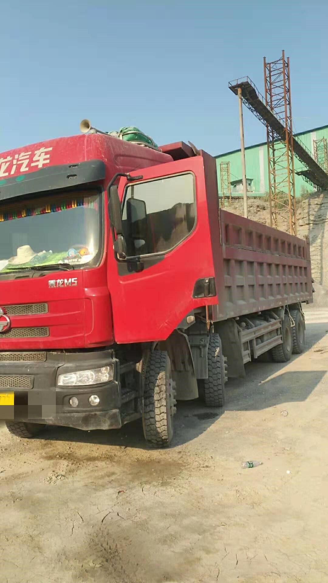東風乘龍 載貨車  385匹 2017年02月 8x4
