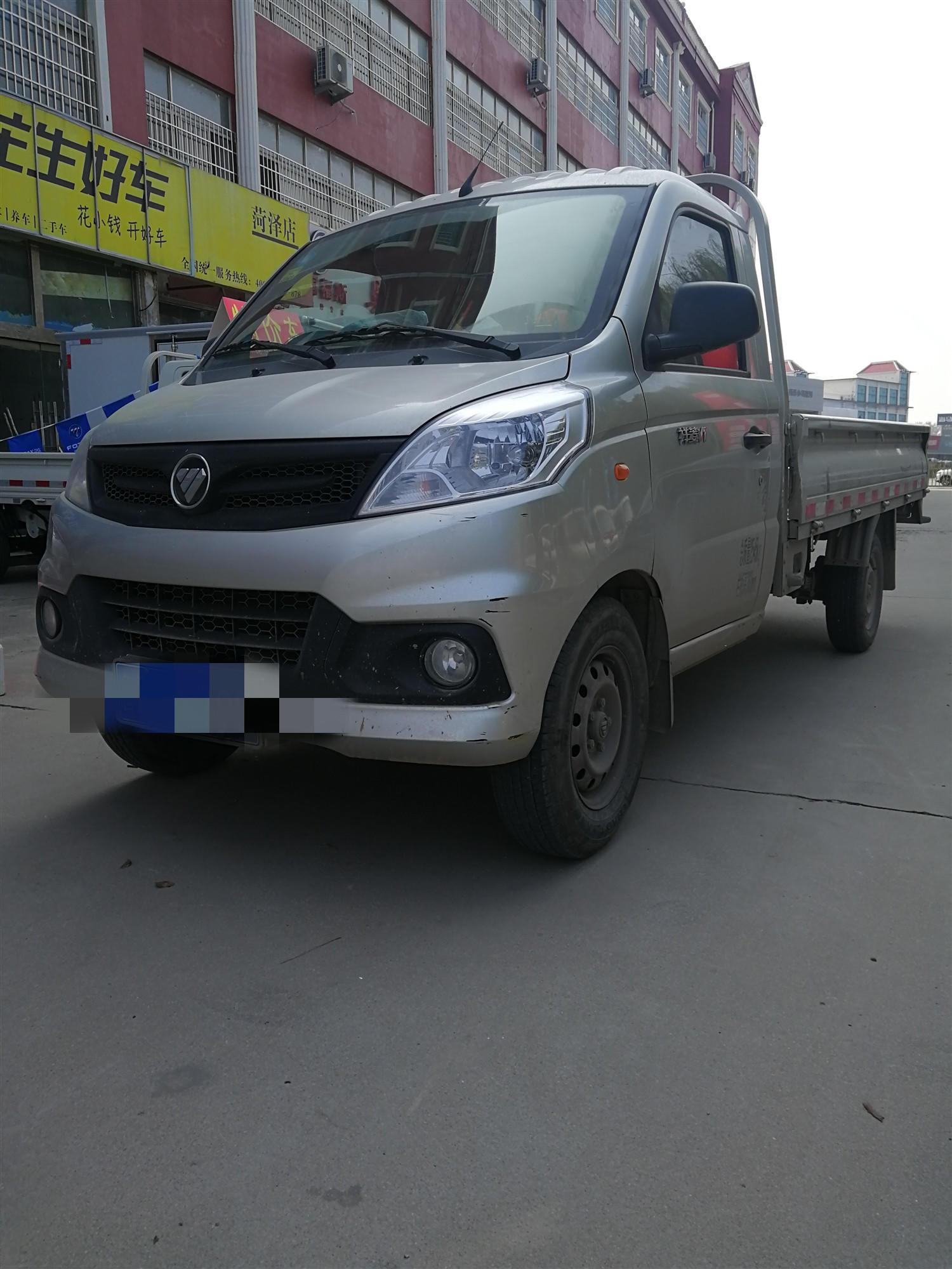 北汽福田瑞沃 载货车  55匹 2019年01月 4x2