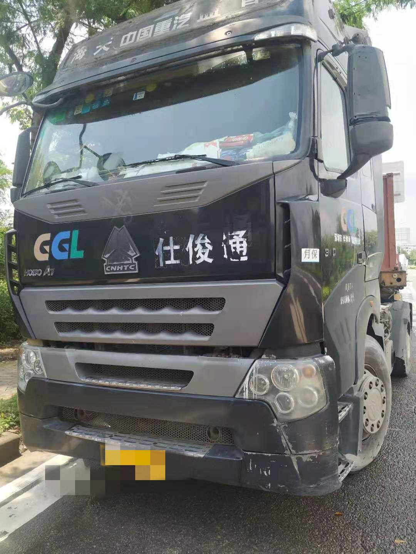 中國重汽HOWO 牽引車  340匹 2010年10月 4x2