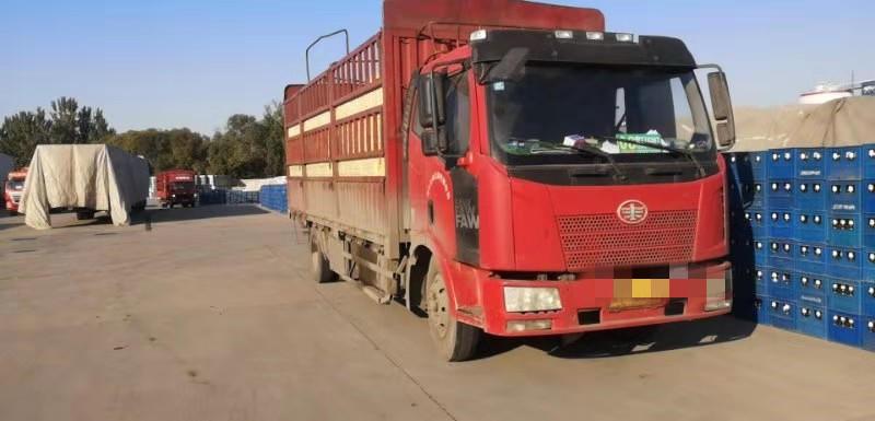 一汽解放J6L中卡 質惠版 載貨車  160匹 2014年10月 4x2