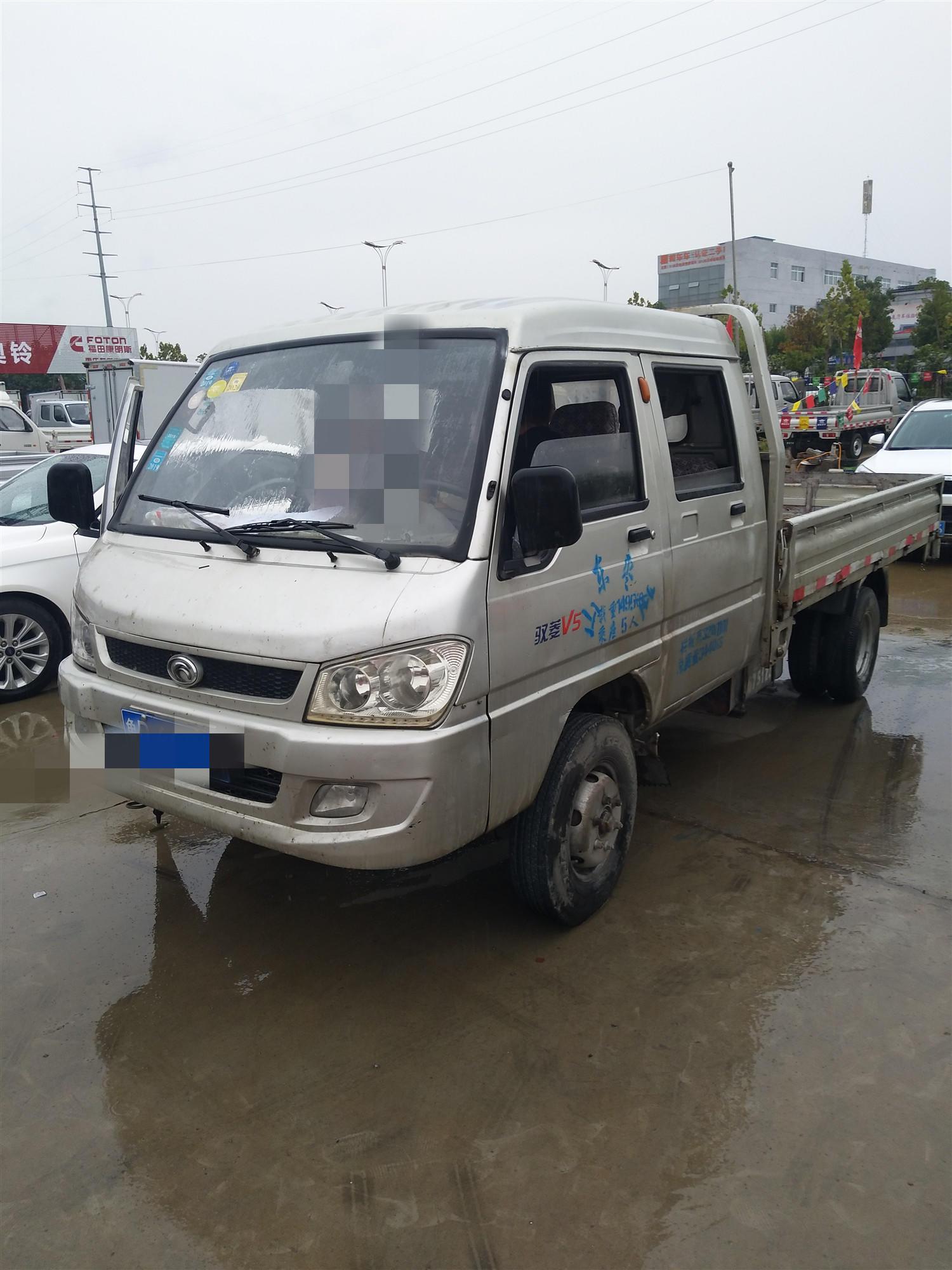 北汽福田瑞沃 载货车  110匹 2013年09月 4x2