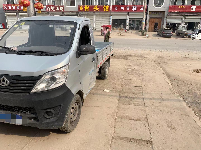 长安跨越跨越王X3 载货车  110匹 2018年07月 4x2
