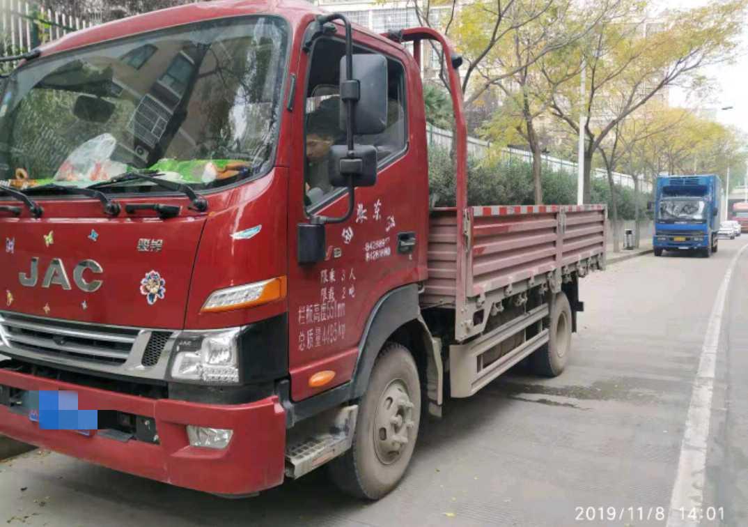 江淮其他車系 載貨車  170匹 2019年05月 4x2