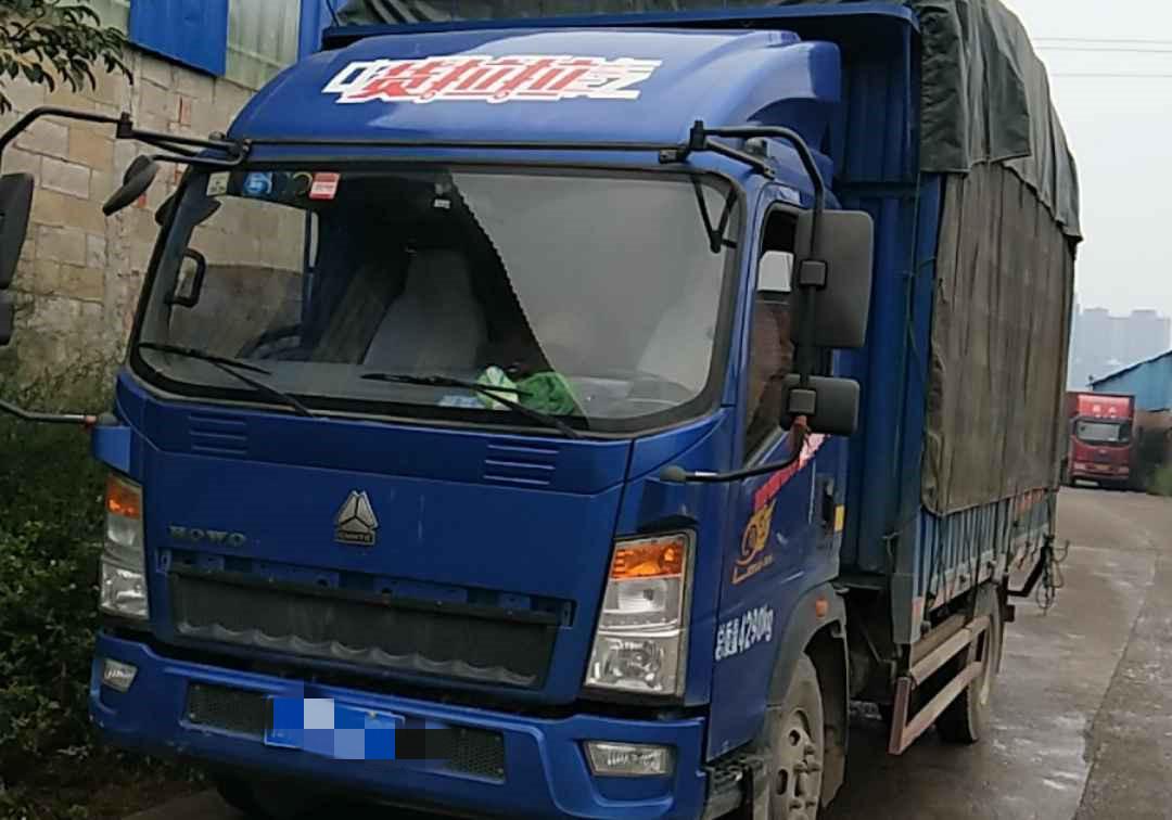 中國重汽HOWO 載貨車  170匹 2018年03月 4x2