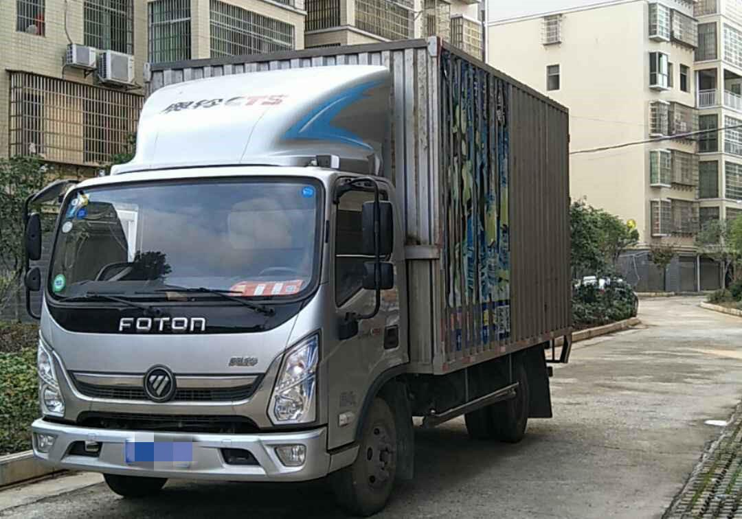 #其他品牌福田奧鈴CTS,載貨車  131匹 2018年02月 4x2