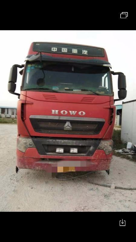 中国重汽HOWO 散装物料车  440匹 2015年11月 8x4