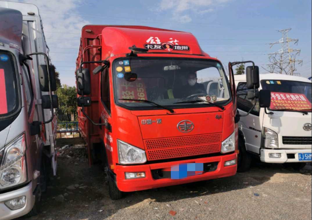 青島解放JH6 載貨車  135匹 2018年09月 4x2