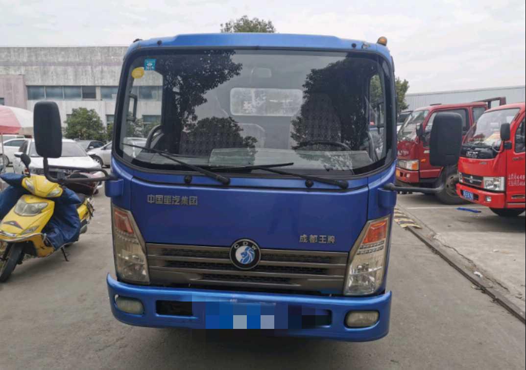 中國重汽王牌 載貨車  130匹 2012年11月 4x2