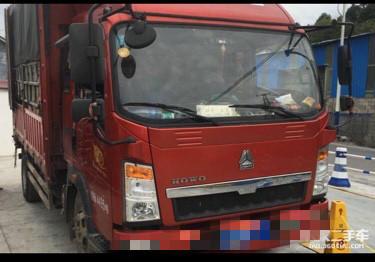 中國重汽悍將 載貨車  170匹 2017年11月 4x2