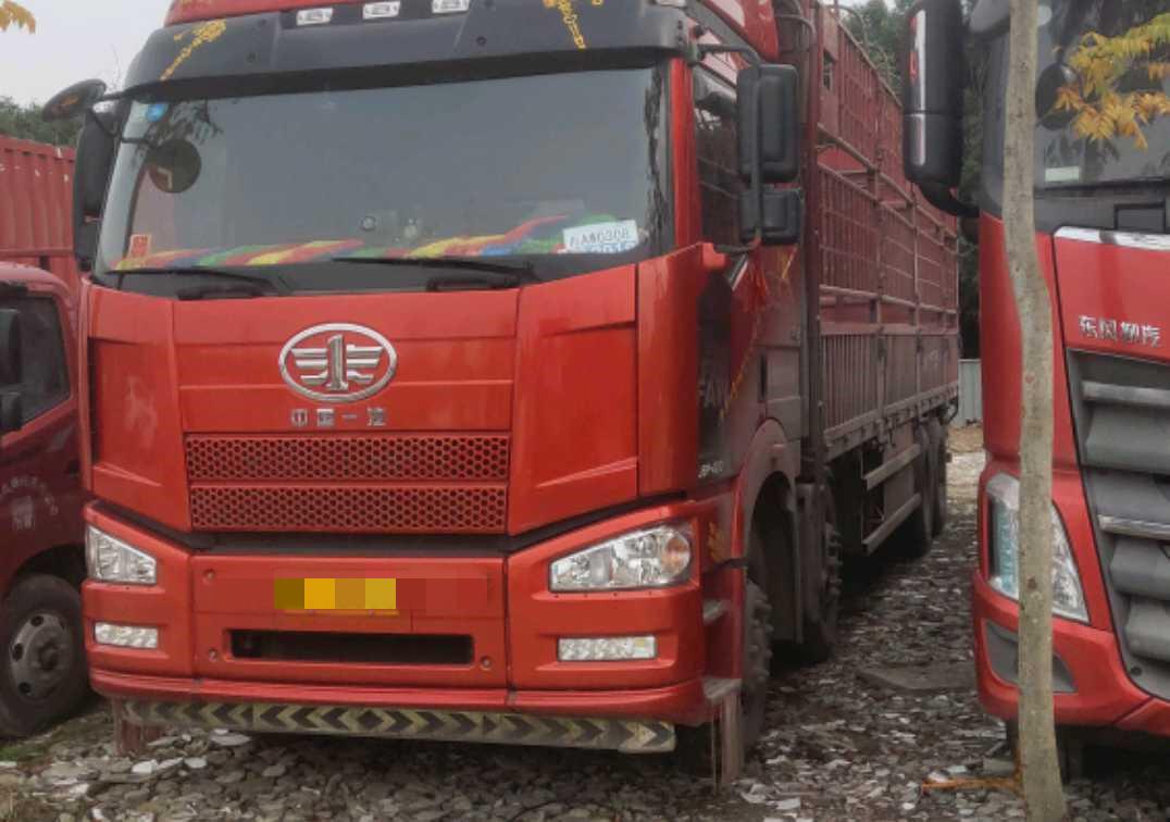 一汽解放J6P重卡 綠通版 載貨車  420匹 2017年05月 8x4