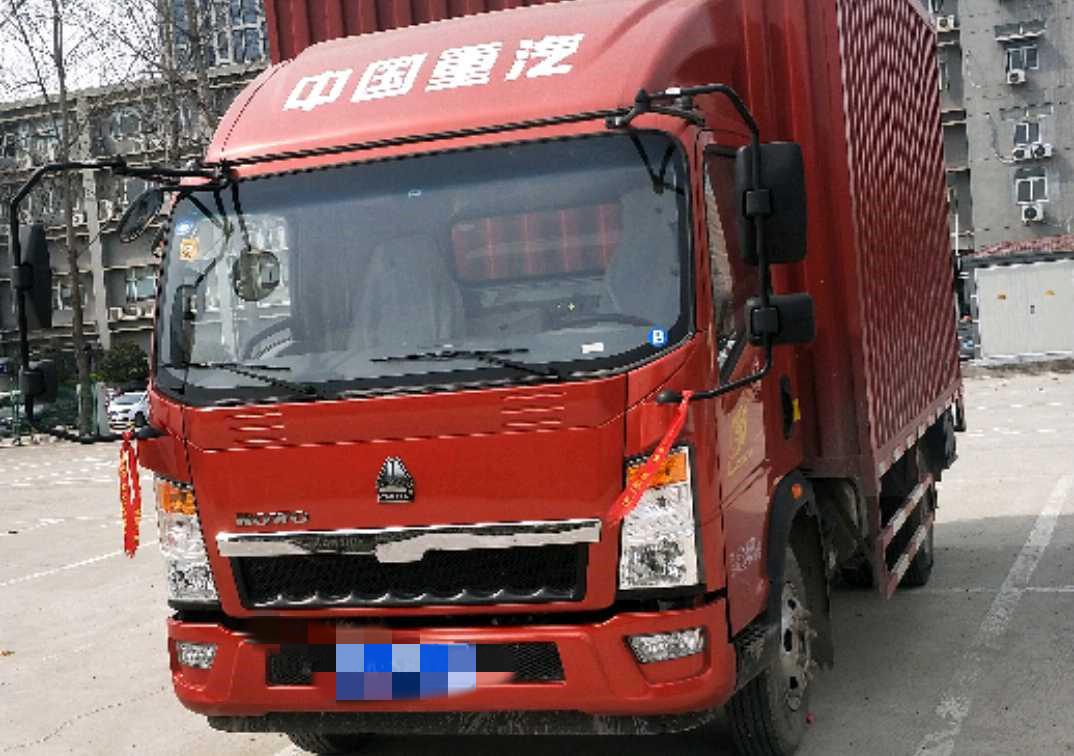 中國重汽HOWO 載貨車  160匹 2019年02月 4x2