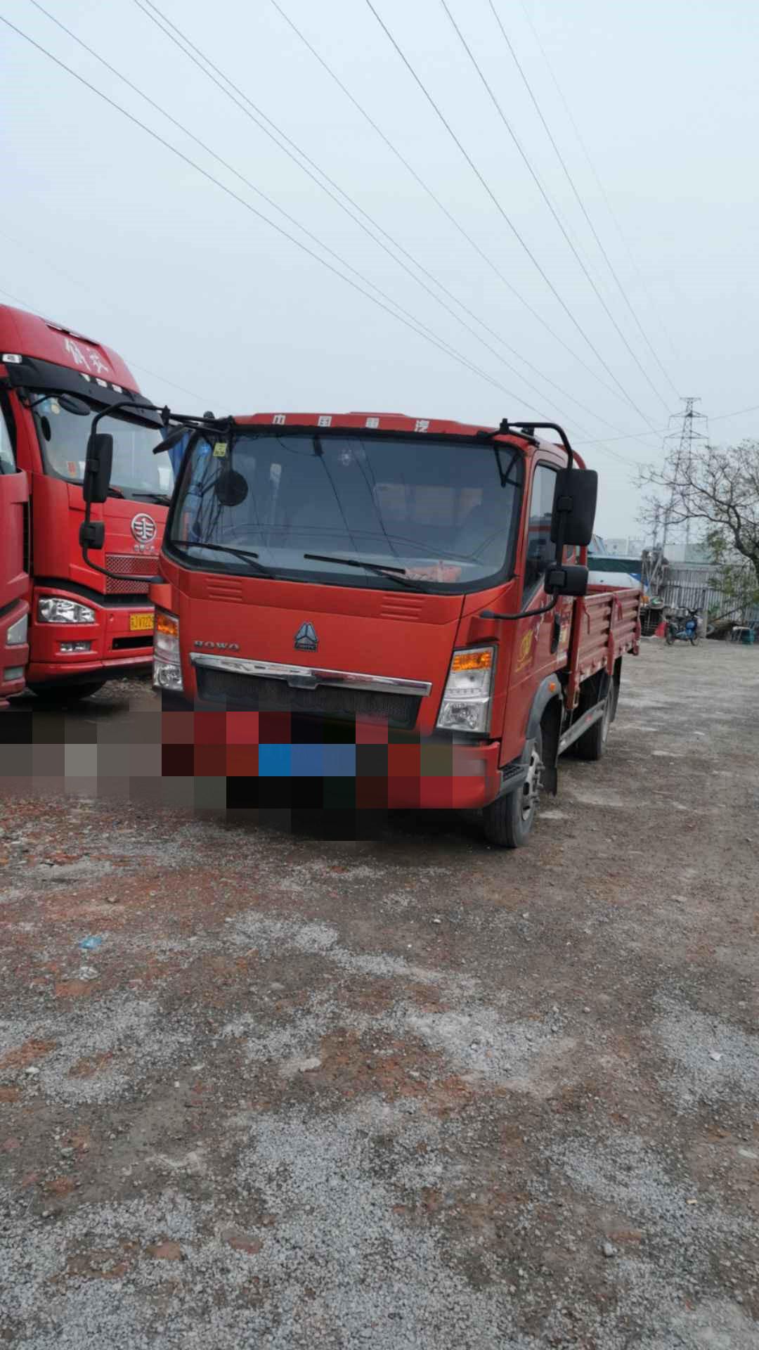 中國重汽HOWO 載貨車  130匹 2016年03月 4x2