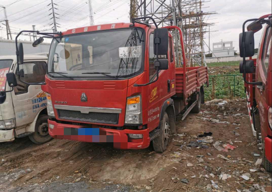 中國重汽HOWO 載貨車  156匹 2017年03月 4x2