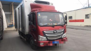 福田欧曼其他车系 冷藏车  131匹 2018年03月 4x2