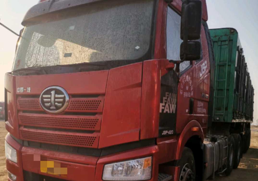 一汽解放J6P重卡 牽引車  420匹 2019年02月 6x4