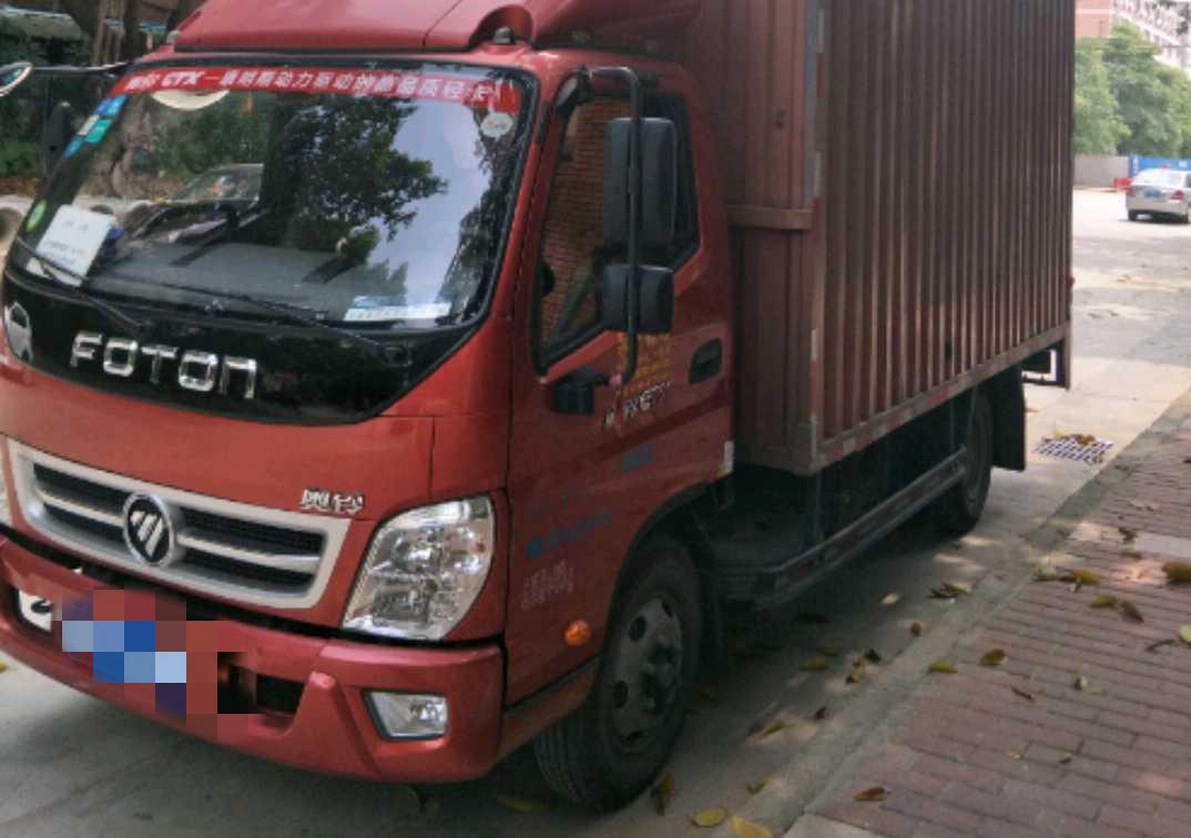 福田歐曼其他車系 載貨車  120匹 2016年05月 4x2