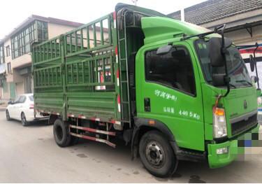 中國重汽HOWO 載貨車  130匹 2016年12月 4x2