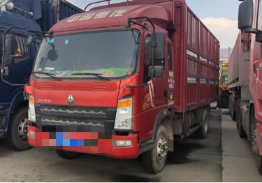 中國重汽HOWO 載貨車  154匹 2017年08月 4x2