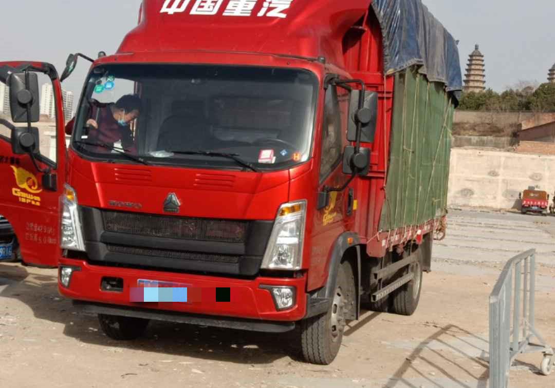 中國重汽HOWO 載貨車  156匹 2019年03月 4x2